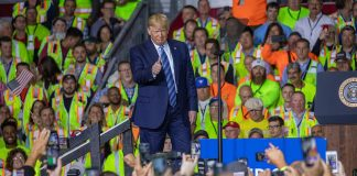 Trump support for steel industry
